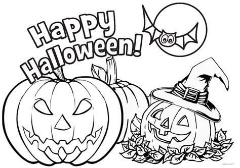 jack  lantern pumpkins halloween  printable coloring