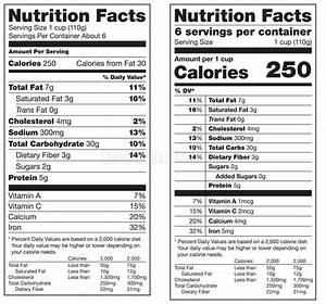 nutrition facts labels stock vector image of data With nutrition facts label template download