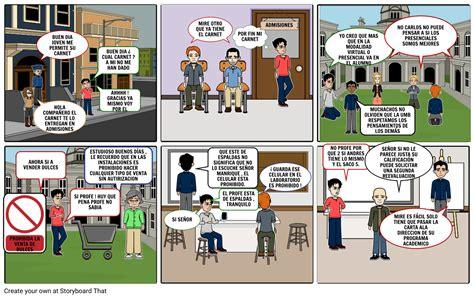 Historieta Derechos Y Deberes Storyboard Por Carlosmanrrique