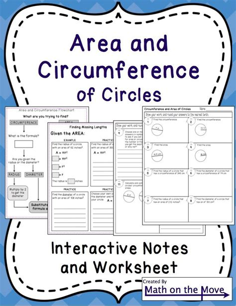 6th Grade Math Worksheets Area Of A Circle  1000 Images About School On Pinterest Area And