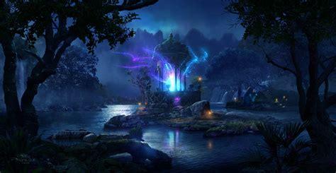 Artstation  Fairy Forest, Pablo Palomeque