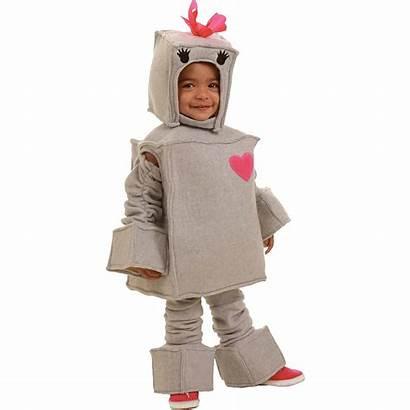 Robot Costume Toddler Rosalie Martian Super Boy