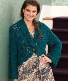 Buttoned Lace Cardigan Free Crochet Pattern  U22c6 Crochet Kingdom