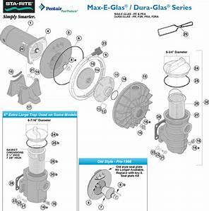 Starite Max-e-glas And Dura-glas Pumps Parts Dura-glas - Pr  P2r  Pra  P2ra   U0026 Max-e-glas