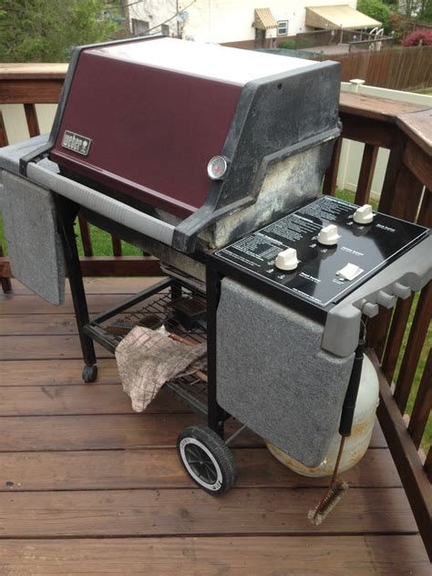 weber silver gas grill genesis silver b restoration by thyde the weber