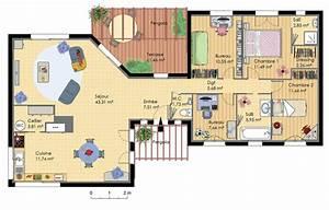plan maison moderne gratuit pdf notre petit nid inspi With maison en 3d gratuit 0 images 3d dextensions de maisons