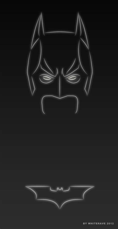 batman neon light light superheroes illustrations by whiterave