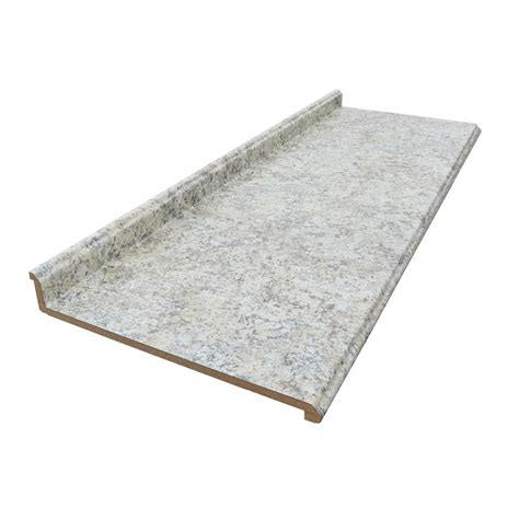 hton bay 10 ft laminate countertop with edge in
