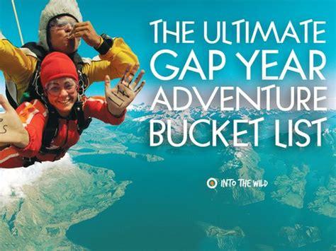 The Ultimate Gap Year Adventure Bucket List