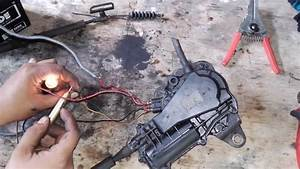How To Working Engine Stop Motor Diagram  Isuzu Elf 24v