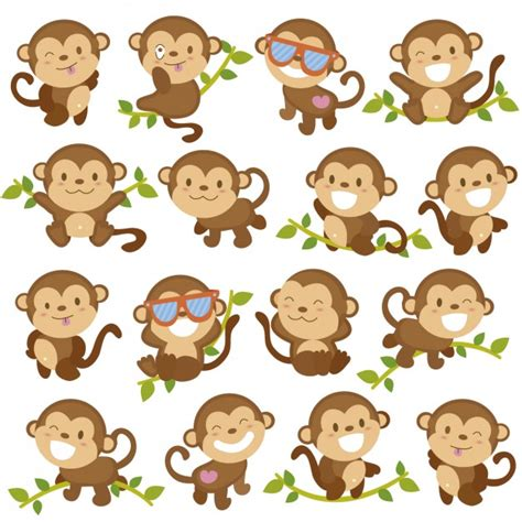 monkey vectors and psd files free