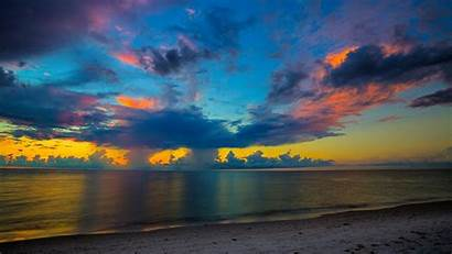 Sunset Beach 4k Wallpapers Florida Nature Desktop