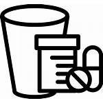 Bunch Medicines Glass Icon Onlinewebfonts