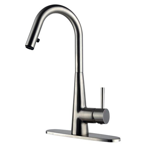 rona faucets kitchen 1 handle kitchen faucet quot nabara quot rona