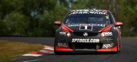 a possessed holden racing team v8 supercar is for sale