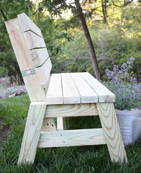 build  diy  bench diy garden furniture