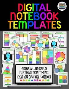 Digital Notebook Templates For Paperless Classrooms And
