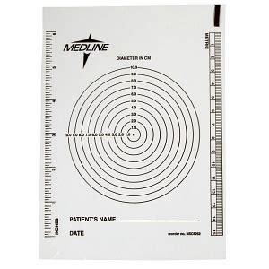 bullseye plastic wound ruler medline industries