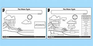 The Water Cycle Worksheet    Activity Sheet