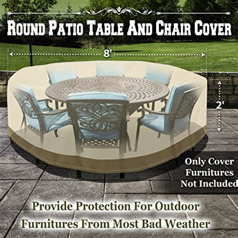 table and chair covers benefitusa round patio table chair cover garden outdoor