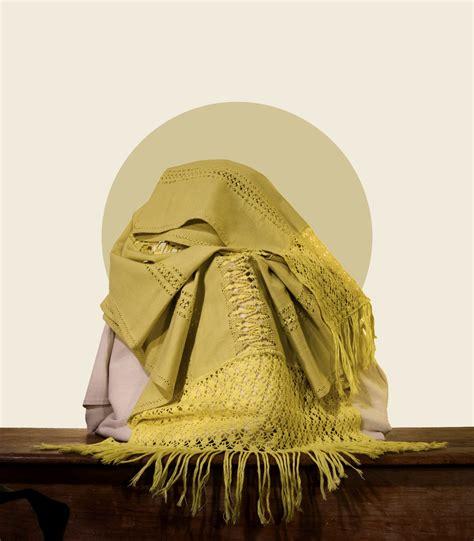 Oaxacan green 100% linen rebozo/shawl with hand-made drawn ...
