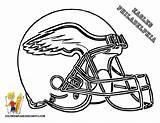 Broncos Coloring Pages Getcolorings Footbal Helmet sketch template