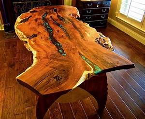 Turquoise Inlay Table by Louis Fry Furniture - Right Rocks!
