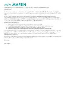 Administrative Assistant Cover Letter No Experience Best