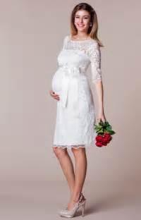 brautkleid schwangerschaft hochzeitsmode für schwangere