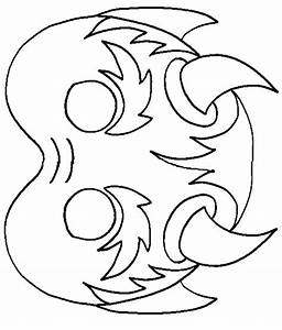 Masque Halloween A Fabriquer : imprimer le masque diable colorier ~ Melissatoandfro.com Idées de Décoration