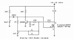 Debounced Push Button High Current Mosfet Toggle Switch