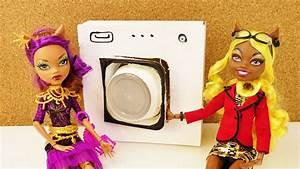 Waschmaschinen Erhöhung Selber Bauen : monster high waschmaschine basteln barbie m bel selber ~ Michelbontemps.com Haus und Dekorationen