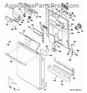 Wiring Diagram  29 Ge Profile Dishwasher Parts Diagram