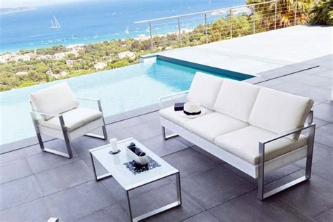 salon d exterieur design salon de jardin design contemporain en rotin meuble et d 233 coration marseille mobilier design