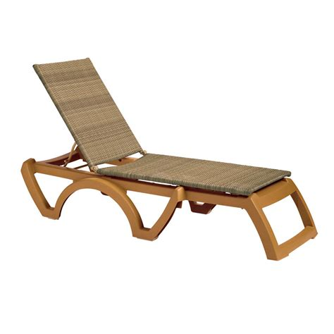 chaise longue grosfillex grosfillex outdoor java patio chaise resort contract