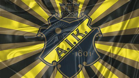 1920x1080 Retro flagga AIK hockey desktop PC and Mac wallpaper