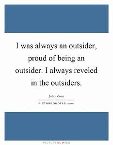 being an outsider quotes Quotes