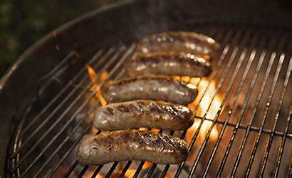 Sausages Bratwurst Cooking Sausage Grill Grilling Bbq