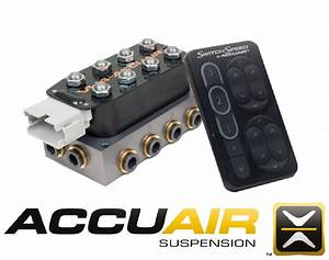 Accuair Switchspeed Controller Black Touchpad Vu4 Valve