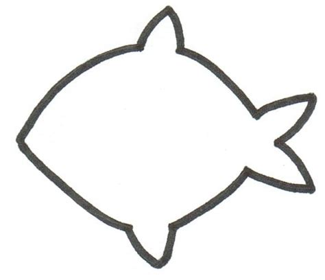 fish template in the sun templates running with