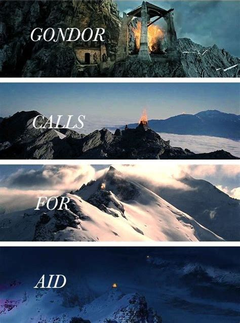 Light The Beacons by The Beacons Are Lit Lotr Awesome The