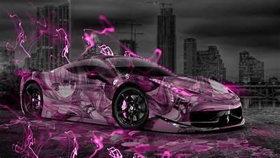 Ferrari Neon Wallpapers Auta Anime Tony Kokhan