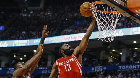 Harden scores 40 points as Rockets beat Raptors | CTV News