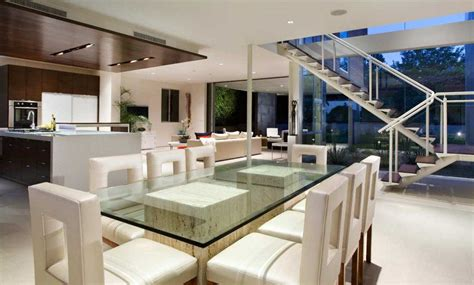 modern kitchen and dining room design get the best modern dining room ideas for your home 9757