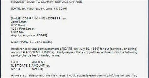 request letter  clarification