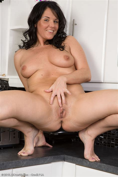 In The Kitchen With Horny Milf Leah H Milf Fox