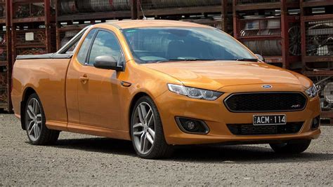 2015 fg x ford falcon ute review first drive carsguide