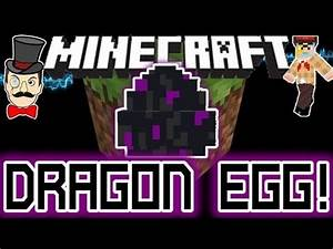 Minecraft ENDER DRAGON EGG ! Teleports Away - Can it Hatch ...