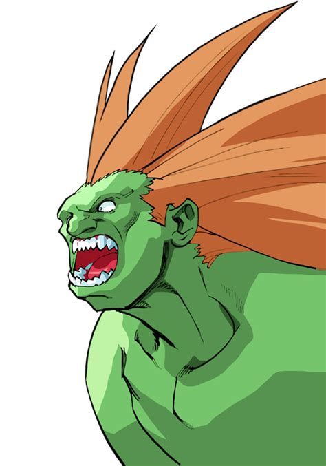 Blanka Official Portrait From Street Fighter Alpha 3