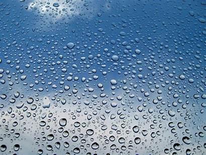 Rain Drops Water Window Rainy Panes Skyscapes